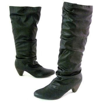 Chelsea Crew Travel - Black Knee-High Boots