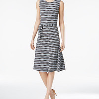 Charter Club Fit & Flare Shirtdress, Created for Macy's - Knee length dresses - SLP - Macy's