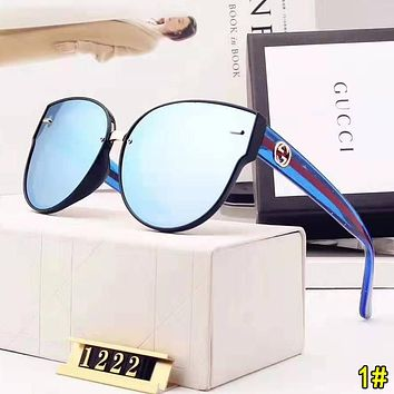 GUCCI Popular Woman Men Fashion Shades Eyeglasses Glasses Sunglasses 1#