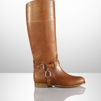 Sage Vachetta Riding Boot