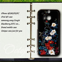 samsung galaxy S4 active case,htc one m8 / m7 / s / x case,samsung galaxy note 3 / note 2 / S3 mini / S4 mini / S3 / S4 / S5 case,Flower