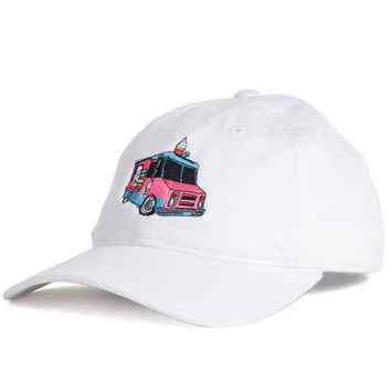 Ice Cream Man (white) dad hat