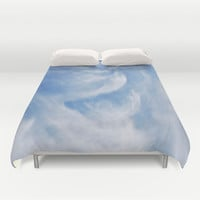 Clouds and sky Duvet Cover by Laureenr