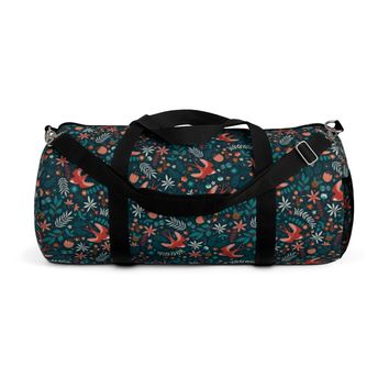 Flying Swallows Duffle Bag