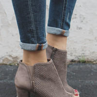 Dublin Booties - Taupe