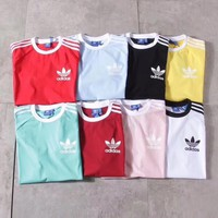 adidas originals three stripe t shirt 8 color