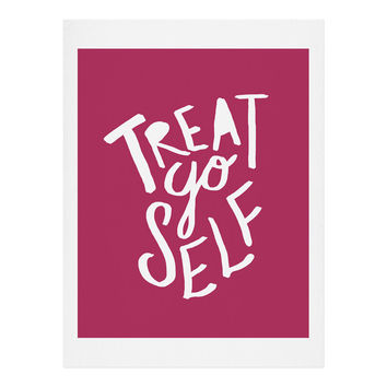Leah Flores Treat Yo Self Art Print
