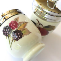 Royal Worcester Egg Coddlers Evesham