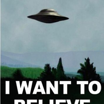 X Files I Want To Believe DIY frame Posters and print 12x18.20x30.24x36.27x40 inch canvas silk Fabric Print art wall Decor