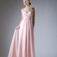 Formal Long Bridesmaid Dress