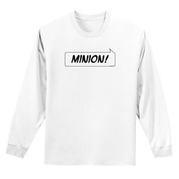Minion Adult Long Sleeve Shirt