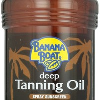 Banana Boat Dark Tanning Oil Spray SPF 4, 8 oz