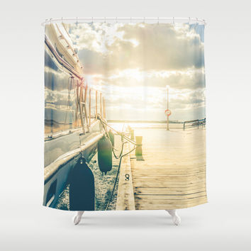 Dokkers XI Shower Curtain by HappyMelvin