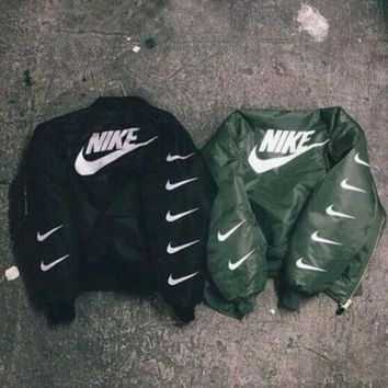 ESBONN ALPHA INDUSTRIES MA-1 BOMBER JACKET - NIKE