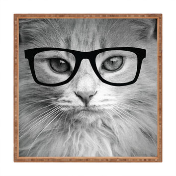 Allyson Johnson Hippest Cat Square Tray
