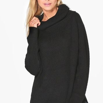 Lucy Roll Neck Soft Knit Jumper