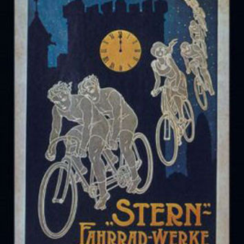 Stern Bicycle Vintage Ad Poster