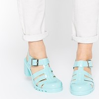 Truffle Collection Jelly Heeled Sandals