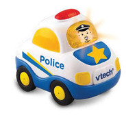 VTech Go! Go! Smart Wheels Learning Car - Police
