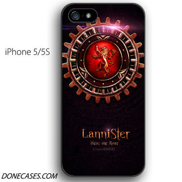 house lannister game of thrones iPhone 5 / 5S Case