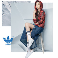 """Adidas"" Multicolor Flower Pattern Long Sleeve Sportswear Zip Cardigan Hooded Windbreaker Coat"