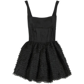Miu Miu Corset mini dress