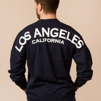 Los Angeles Jersey in Dark Navy by Spirit - ShopKitson.com
