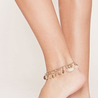 Coin Charm Anklet