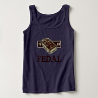 Distortion Pedal Brick Red 1967 Graphic Tank Top