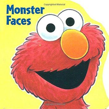 Monster Faces Sesame Street - Chunky Shape Books BRDBK