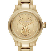 Karl Lagerfeld Gold-Tone Stainless Steel Bracelet Watch