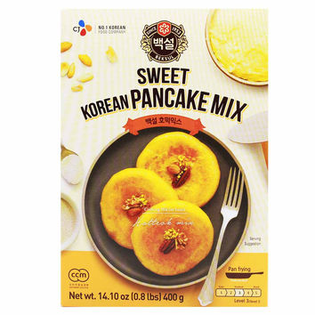 Korean Sweet Pancake Hotteok Mix by CJ 14.1 oz