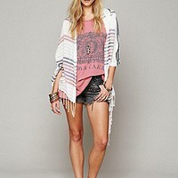 Ketzahli  Free People Clothing Boutique > Stripe Poncho