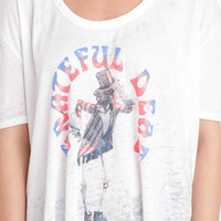 Chaser LA Grateful Dead Tee in Antique White