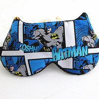 Batman Eye mask, Sleep mask, eye sleep mask, Kitty eye mask, Cat eye mask, Kitty sleep mask.