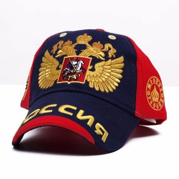 Trendy Winter Jacket New 2017 Fashion Olympics  sochi bosco baseball cap man and woman snapback hat sunbonnet casual sports cap AT_92_12