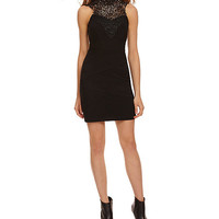Honey and Rosie Lace Yoke Sheath Dress | Dillards