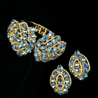 Gorgeous Vintage Juliana D&E Rhinestone Demi