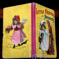 Little Friends And Favorites Mcloughlin Brothers, Illustrated Children's  Book