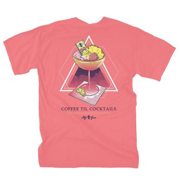 Coffee Til Cocktails Tee by Lily Grace