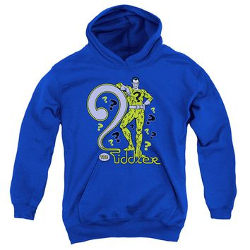 Dc - The Riddler Youth Pull Over Hoodie