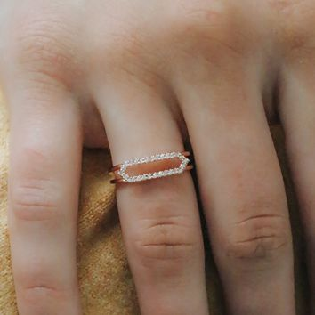 Believe in Me Ring - Rose Gold