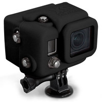 Xsories Silicone Cover Snug-Fit Gopro Case Black One Size For Men 24806310001