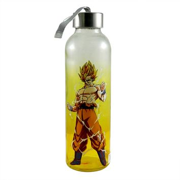 20oz Dragon Ball Z OFFICIAL Sports and Fitness Training Water Bottle GIFT (BPA-Free)
