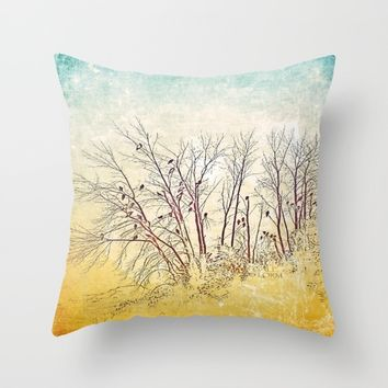 :: There's Vultures Out There :: Throw Pillow by :: GaleStorm Artworks ::