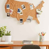 Cross Country Cork Board
