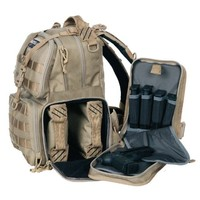 G.P.S. Tactical Range Backpack, Tan