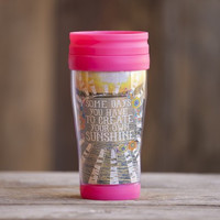 Sunshine Travel Mug