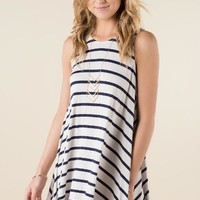 Liza Striped Shift Dress
