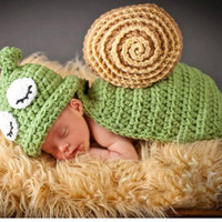 Newborn Baby Girls Boys Crochet Knit Costume Photo Photography Prop = 4457523460